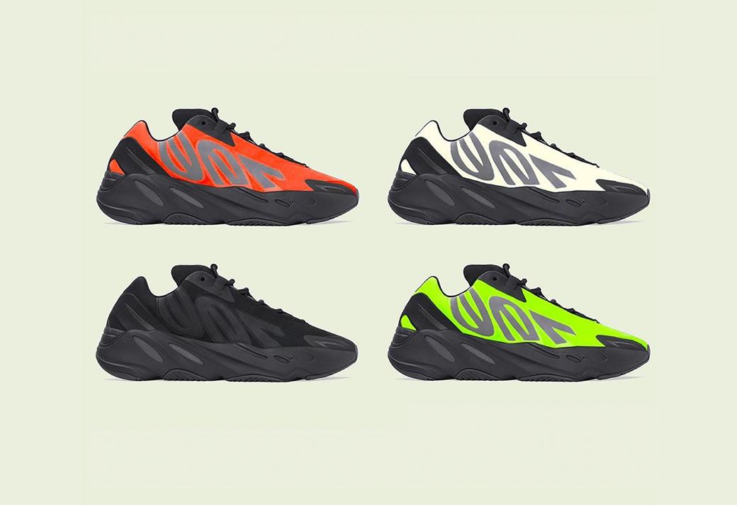 等待,已久,的,Yeezy,700,MNVN,要,发售,了, 等待已久的 Yeezy 700 MNVN 要发售了!4 款配色你选哪双?