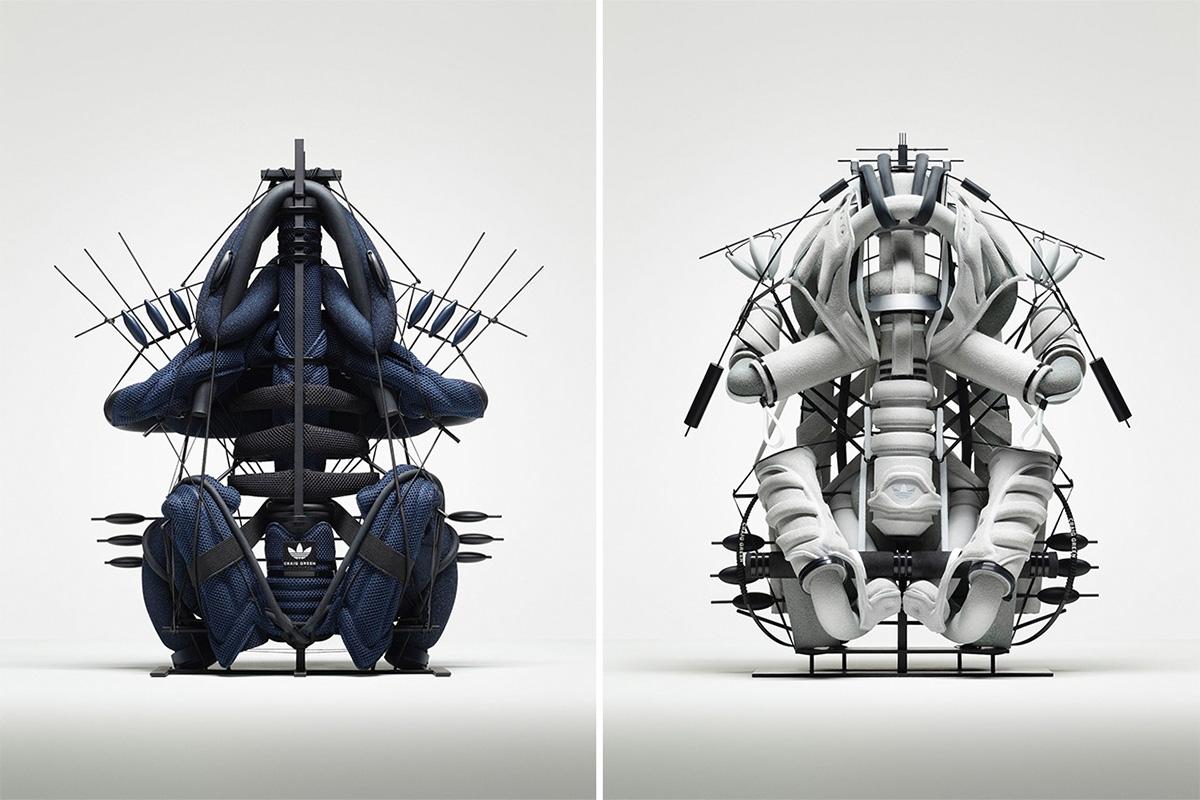 超酷,未来,科幻,风,adidas,新联名,新,联名,展示, 超酷未来科幻风!adidas 新联名展示「未来球鞋」景象
