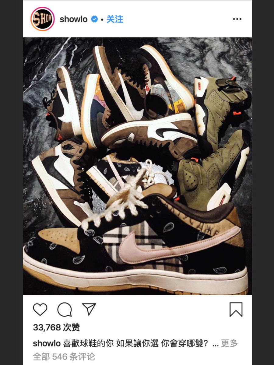 CT5053-001,Nike,Dunk SB CT5053-001 罗志祥也晒了双狠鞋!可能是 2 月份的「鞋王」!