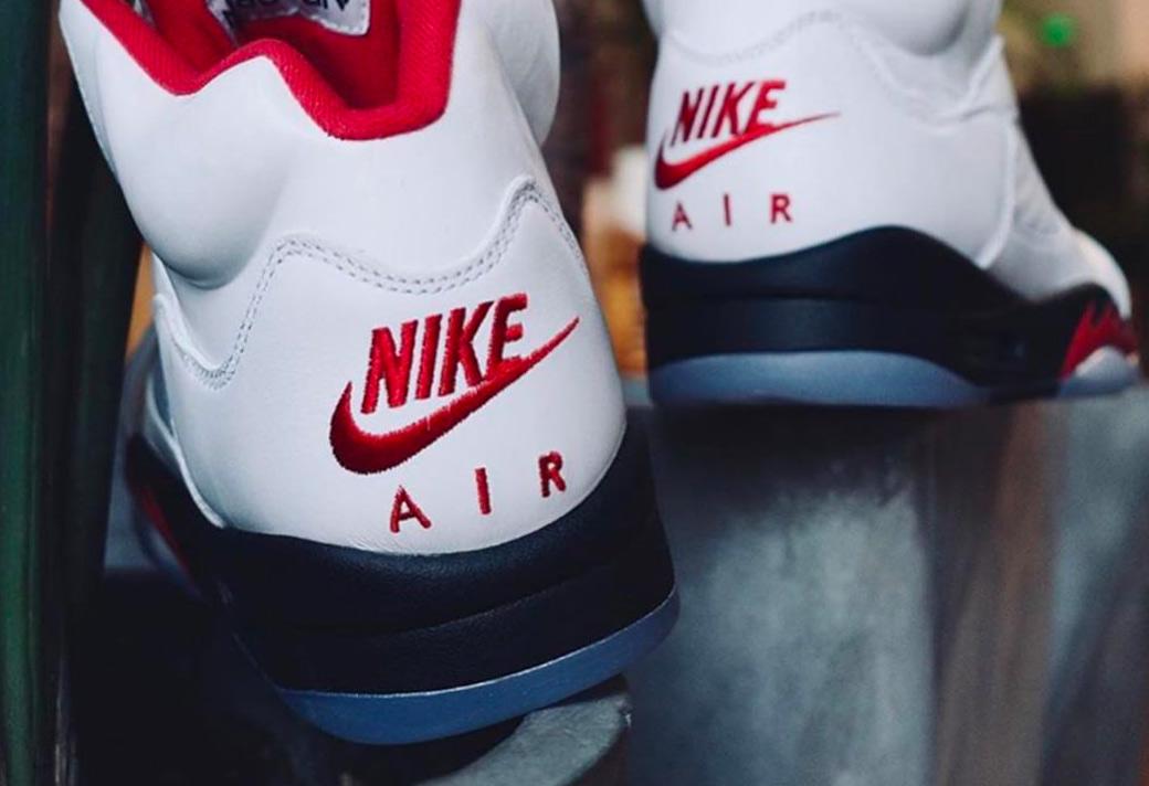 DA1911-102,AJ5,Air Jordan 5 DA1911-102 流川枫 Air Jordan 5 实物新图曝光!离发售只有两个月了!