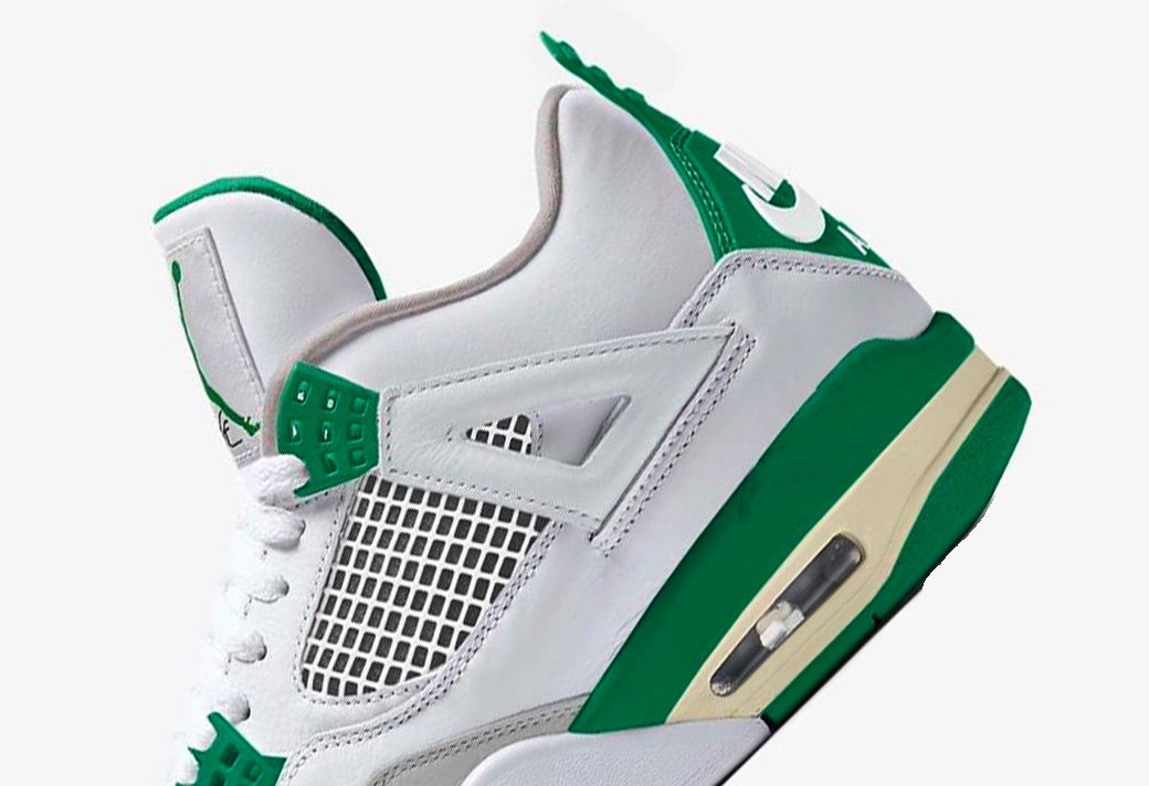 CK6630-100,AJ4,Air Jordan 4 CK6630-100 众人的期待!白绿 Air Jordan 4 发售日期确定了!