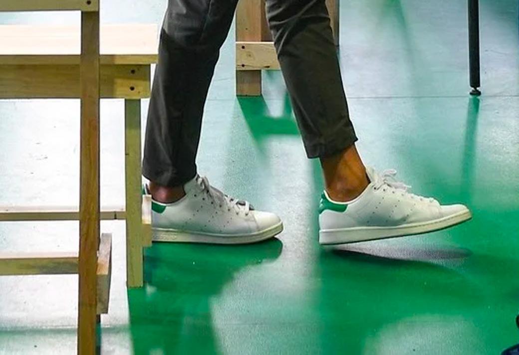 Stan Smith,adidas 奥巴马穿球鞋的照片这两天火了!他到底穿了什么鞋?