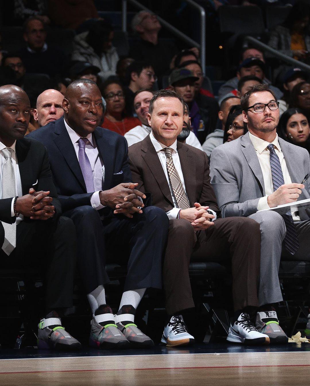 Nike,Kobe,LeBron,发售 缅怀挚友科比!詹姆斯上脚两款未市售 UNFTD x Kobe 4!