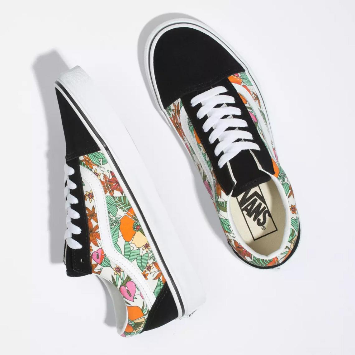 Vans,Slip-On,,Sk8-Hi,Old Skool 春意盎然的 Vans 花卉系列!4 款全新配色现已发售!