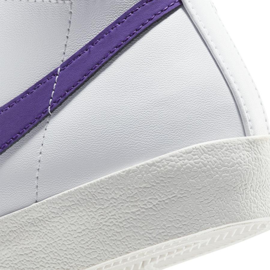 Nike,Blazer Mid 白紫配色清新脱俗!Blazer Mid 再出全新配色!