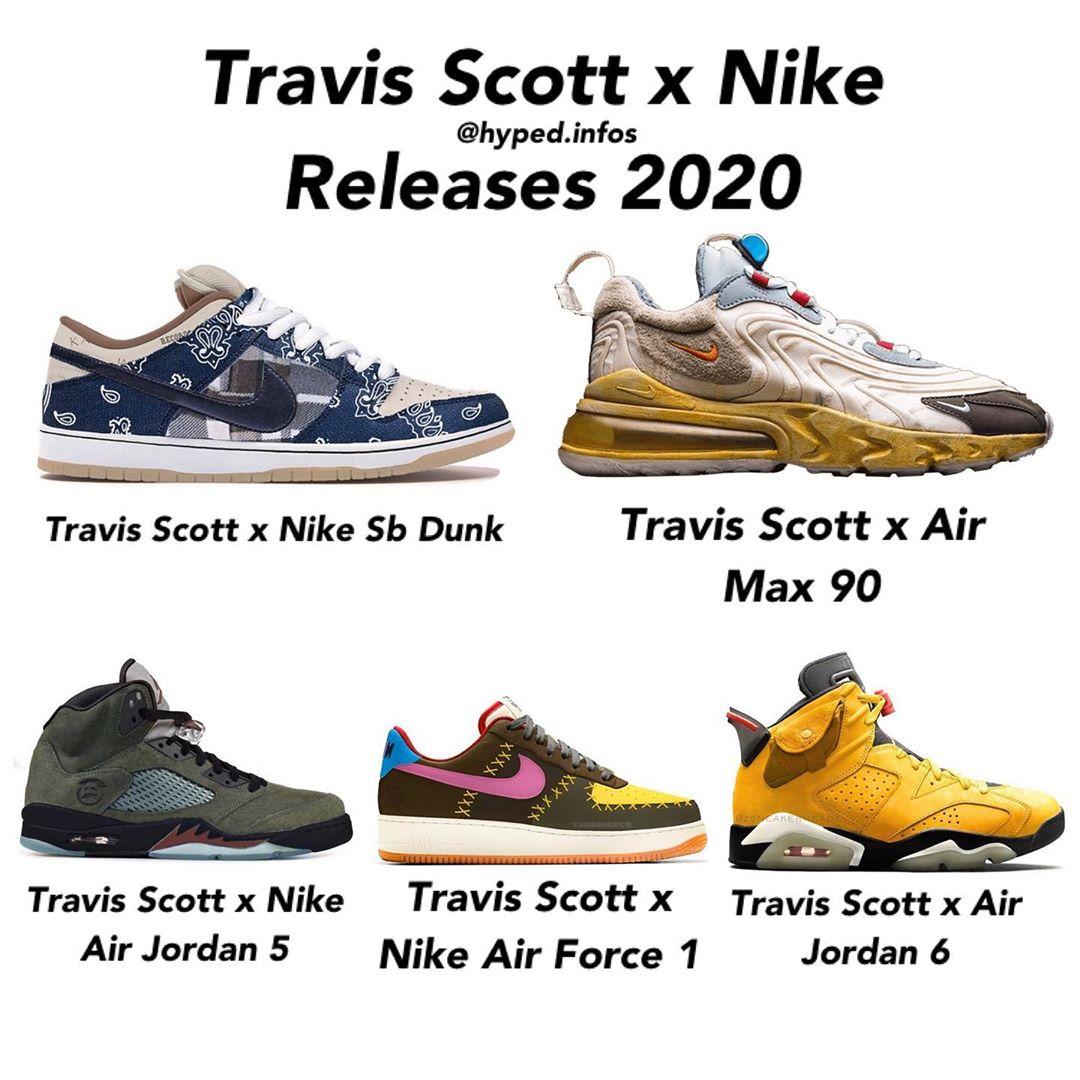 Nike,Travis Scott,Air Force 1, 钱包又要被他掏空了!Travis Scott x Nike 还有五双新联名!