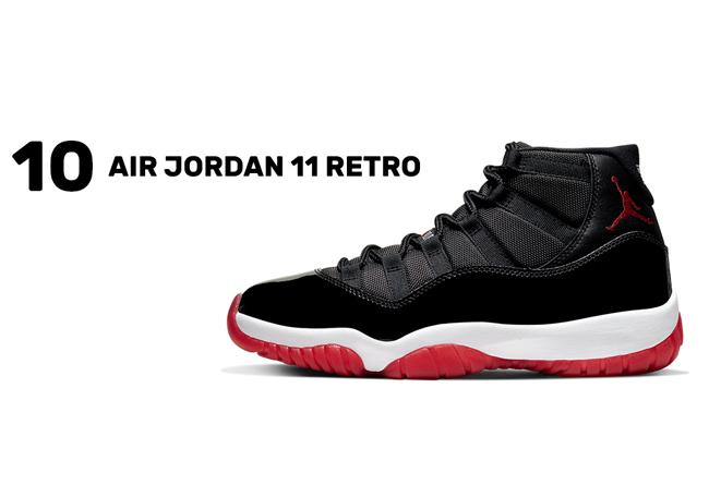 Nike,Jordan,adidas,Vans 2019 年十大畅销球鞋榜单!黑红 AJ11 仅第十,第一真没想到!