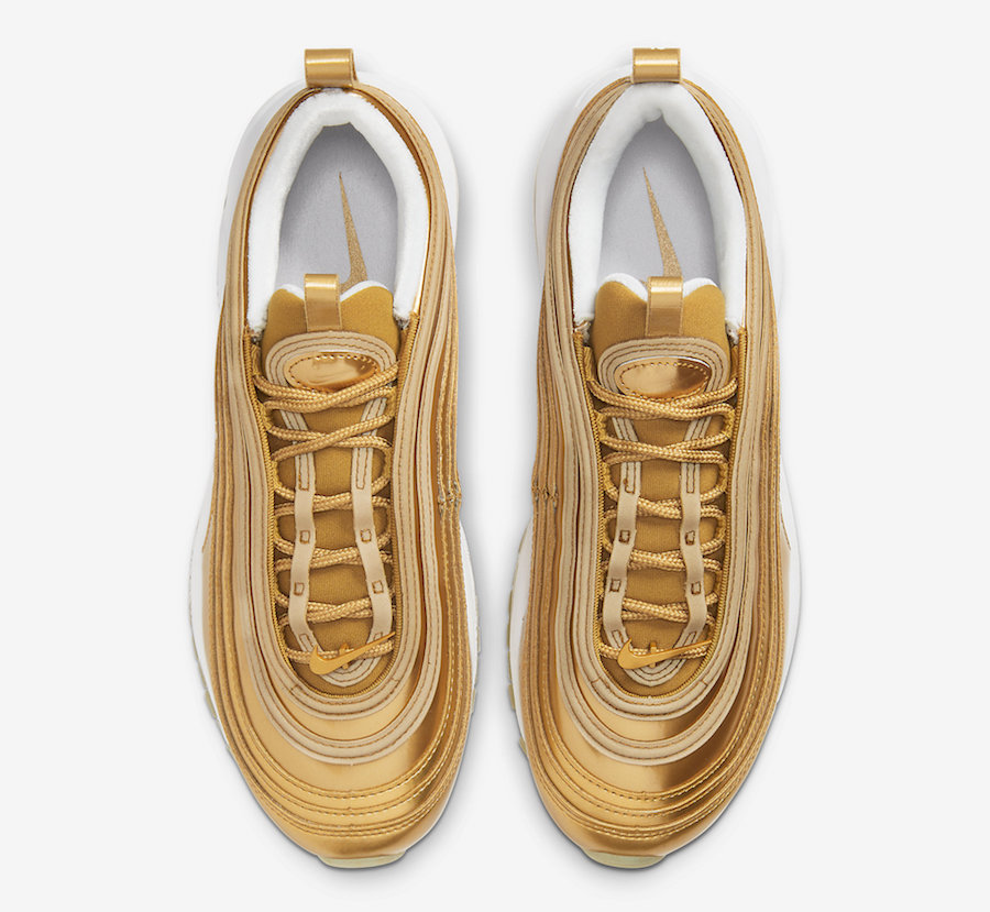 Air Max 97,Metallic Gold,Nike, 奥运会主题!「金子弹」Air Max 97 惊艳登场!近期发售!