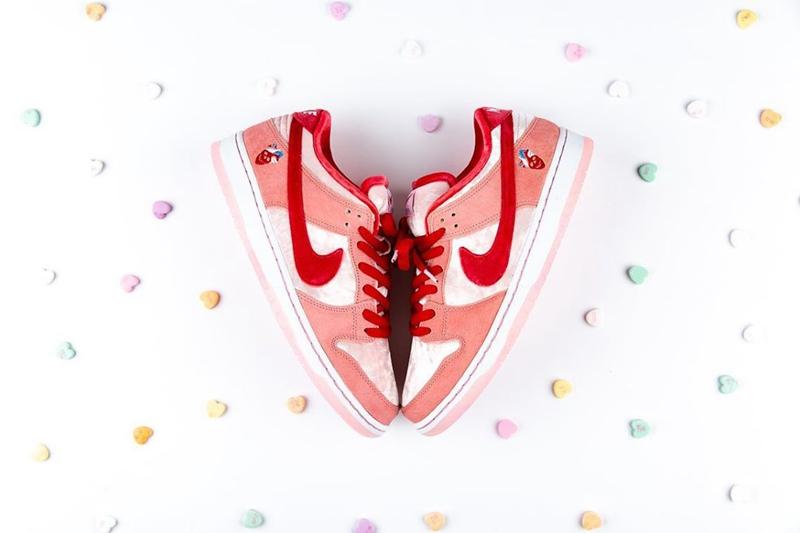 StrangeLove,Nike,SB Dunk Low,C 甜美气氛难以抗拒!情人节 Dunk SB Low 国内发售信息来了!