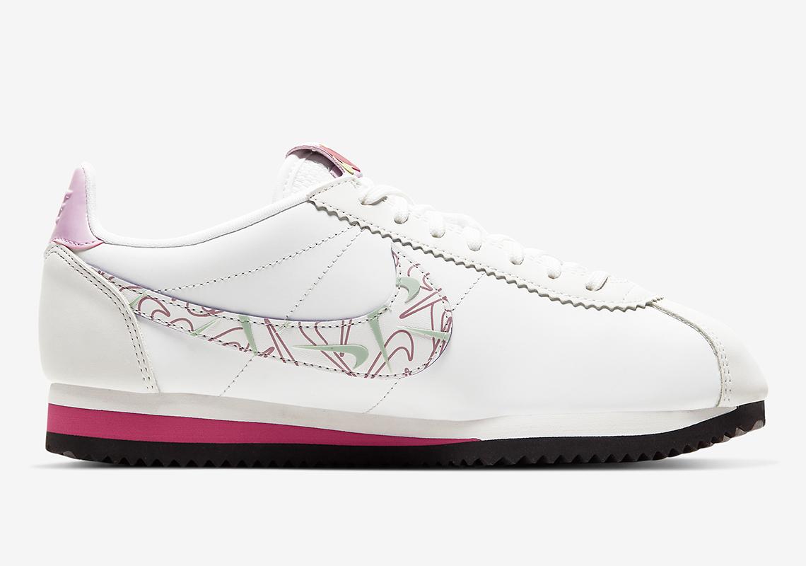 Nike,Cortez 细节颇具新意!阿甘鞋 Nike Cortez 情人节配色即将发售