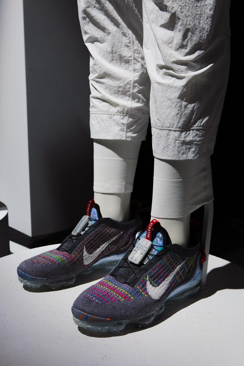 Nike Air VaporMax Flyknit 3 Women s Shoe Green Nike in 2020