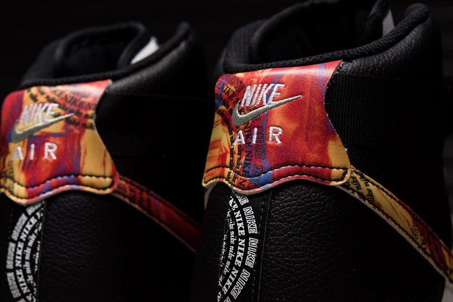 Nike,Air Force 1,CU4736-100,发售 熊猫配色 + 油画细节!高颜值 Air Force 1 Hi 现已发售