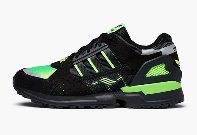 adidas,ZX 10,000C,Solar Green, 骚气荧光绿色!adidas ZX 10,000C 新配色海外刚刚发售!