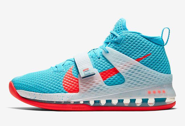 Nike,Air Force Max 2,Blue Fury 融入芝加哥市旗元素!全明星 Nike Air Force Max 2 即将发售