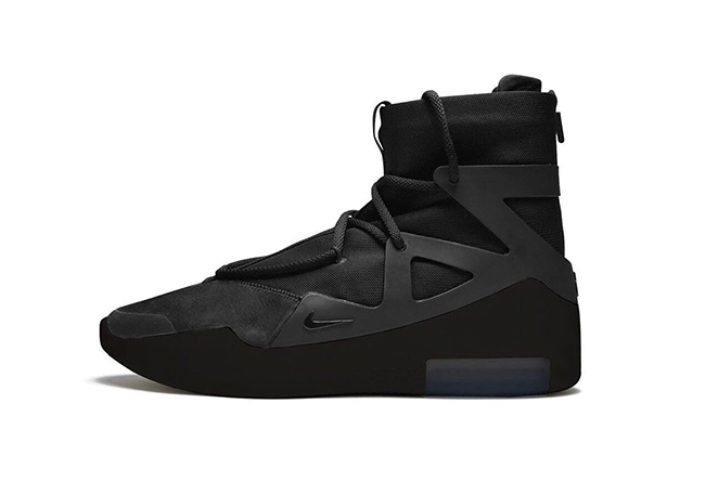 Nike,Fear of God 1,Air Fear of 纯黑 Air Fear of God 1 确定发售!情人节当天登场