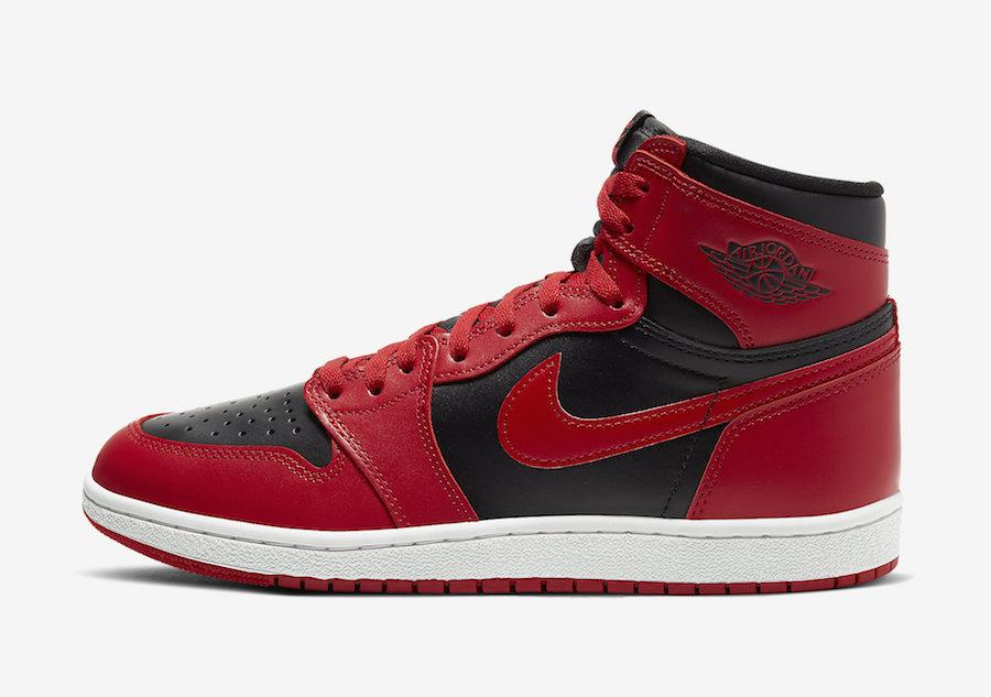 Air Jordan 1,AJ1,发售,BQ4422-600 国内发售延期!反转黑红 Air Jordan 1 下周发售!