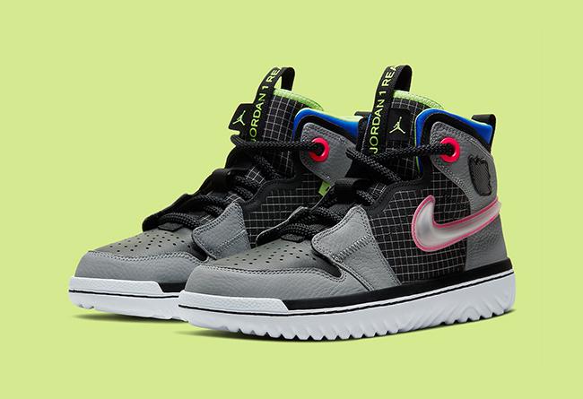 Air Jordan 1,React,AR5321-002, 脚感最好的 Air Jordan 1 又出新配色!还有几分机能范!