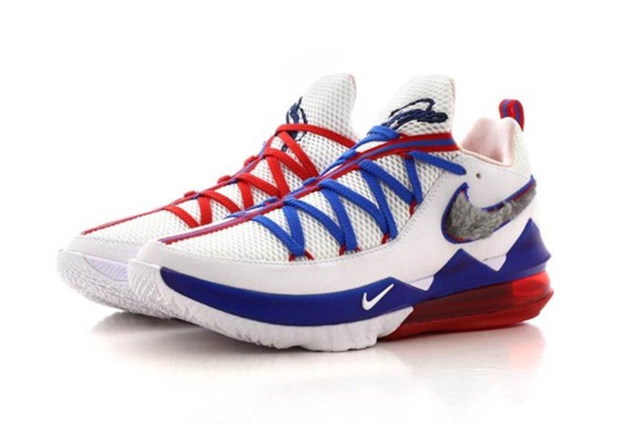 LeBron 17 Low,Nike,发售,CD5007-1 第一款就是特别配色!大灌篮主题 LeBron 17 Low 本月发售