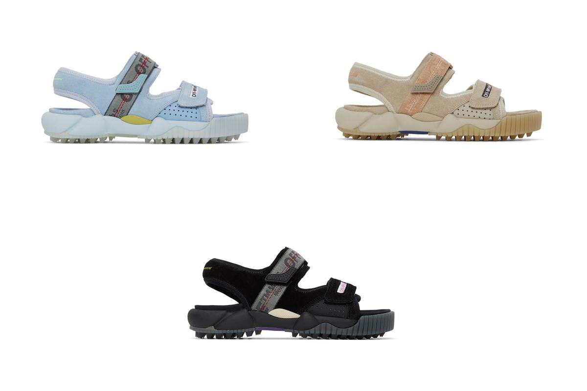 OFF-WHITE OFF-WHITE 经典设计风格!3 双登山凉鞋现已发售!
