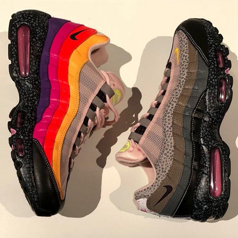 SIZE?,Nike,Air Max 95 多达 20 种配色细节!酷似 What The 风格的 Nike 新联名曝光