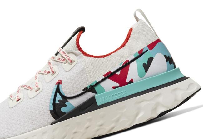 Nike,Infinity React Run,发售 独特色彩装扮!艺术家联名 Nike Infinity React Run 官图释出