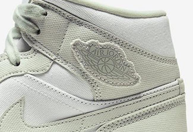 Air jordan 1 Mid,AJ1 Mid,发售,CV 男鞋头看了要嫉妒!这双 Air Jordan 1 Mid 太有工装味了!