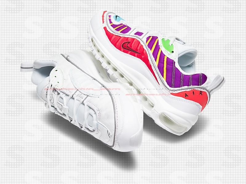 Nike,Air Max 98 特殊包装 + 可撕鞋面!我赌这双 Air Max 98 又要火!