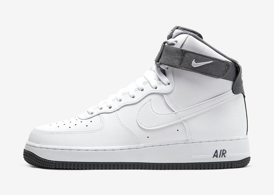 Nike,AF1, Air Force 1 High,CD0  复古灰 + 小白鞋!全新 Air Force 1 Hi 即将发售