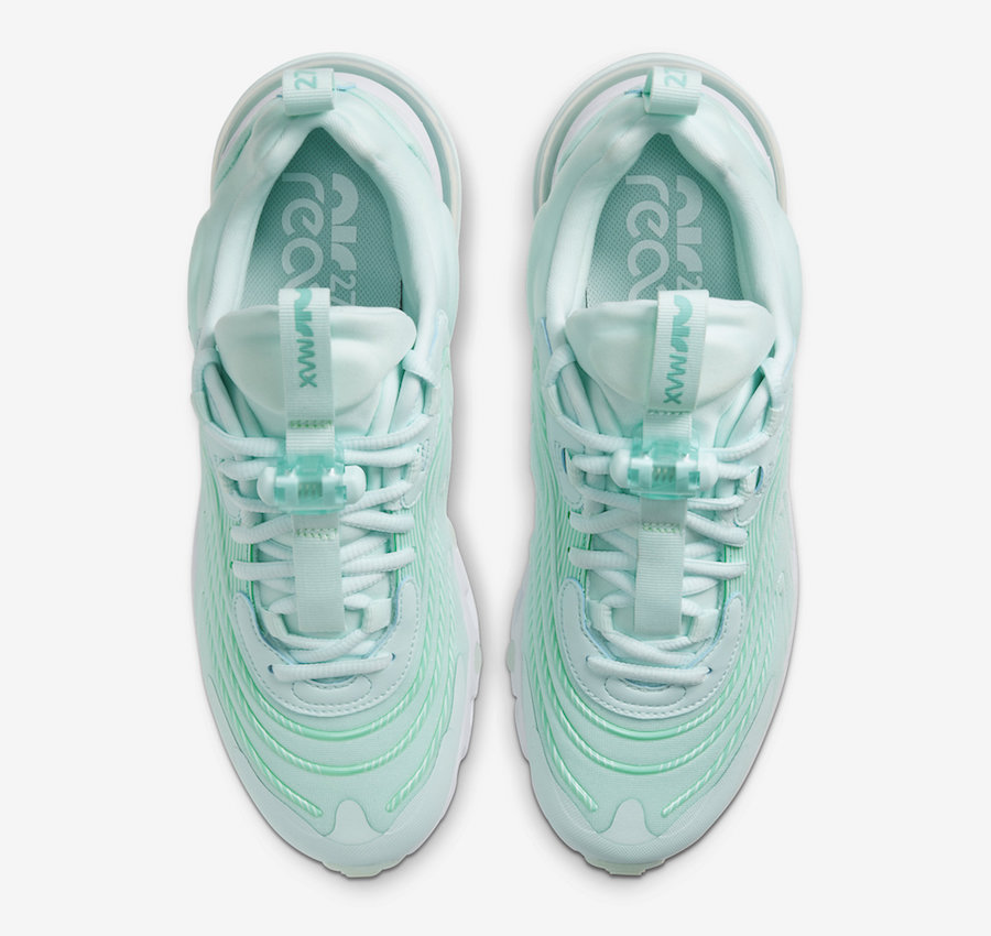Air Max 270 React ENG,CK2608-3  全新配色 Air Max 270 React ENG 即将发售!配色风格非常清新!