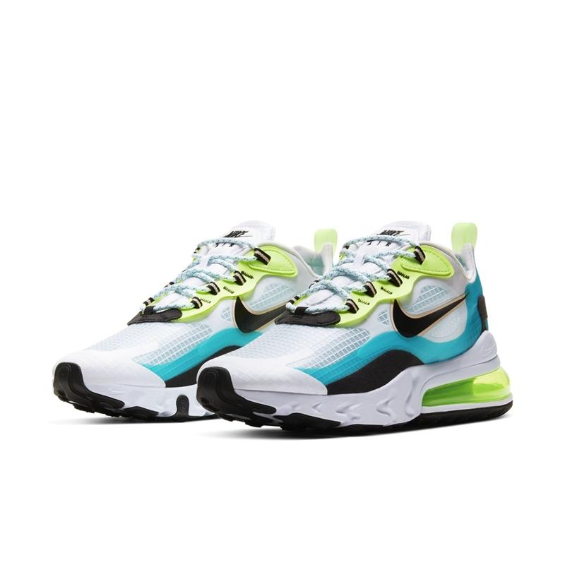 Nike,Air Max 270 React SE 蝉翼鞋身 + 超大气垫!好看又好穿的 Nike 新品值得一试!