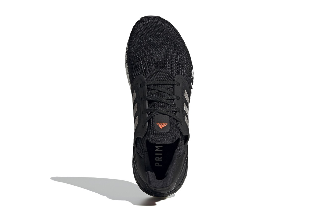adidas,UltraBoost,  银色大理石 + 泼墨中底!这双 UltraBoost 20 太帅了!