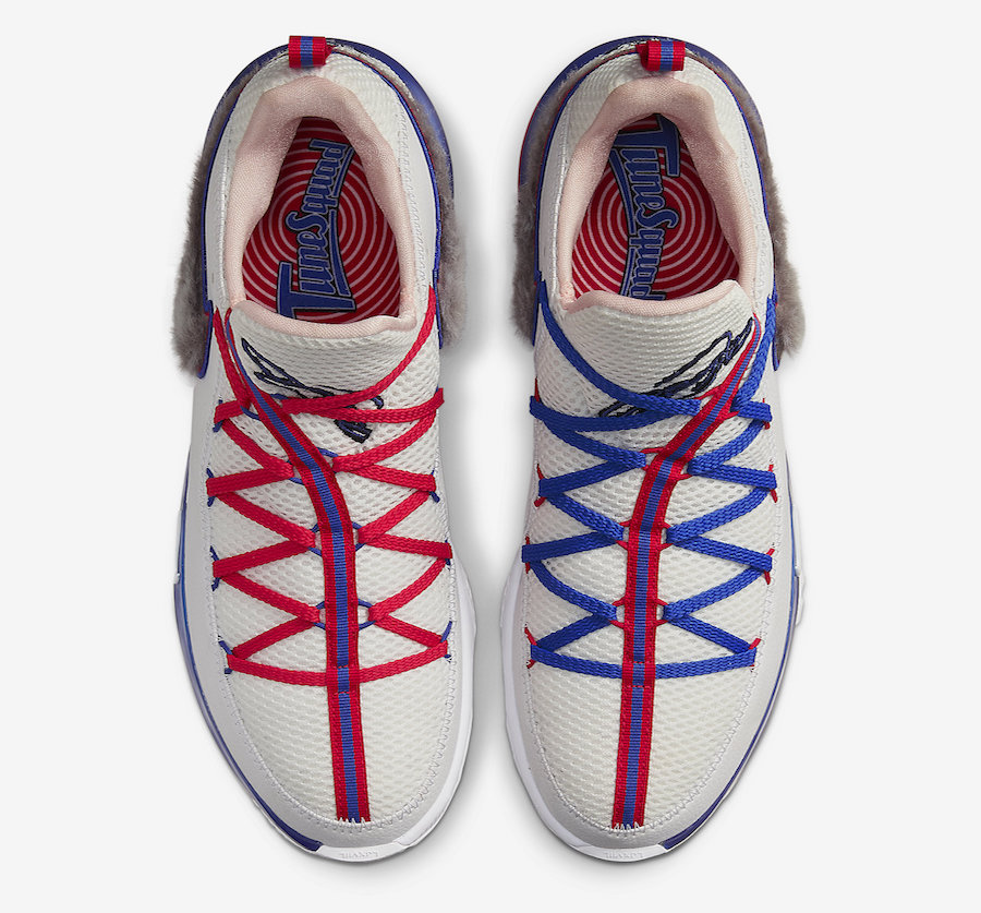 Nike,LeBron 17 Low,CD5007-100, 兔八哥兔毛加持!大灌篮 LeBron 17 Low 本月发售
