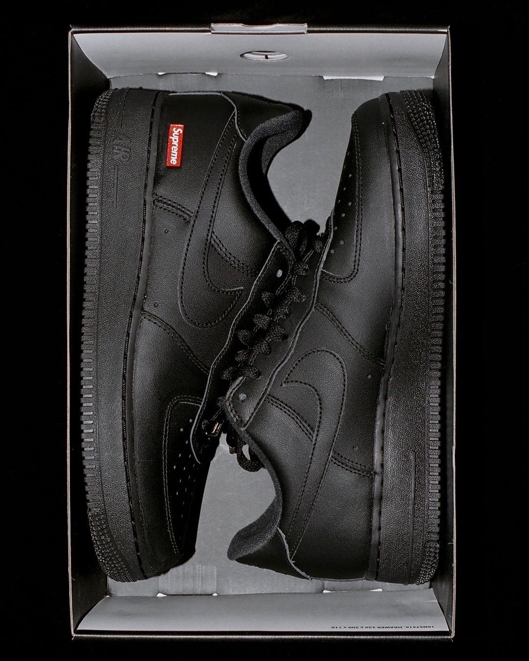 Supreme,Air Force 1,AF1,发售,CU9  你会买账吗?Supreme x AF1 官方发布!传言 4 月发售!