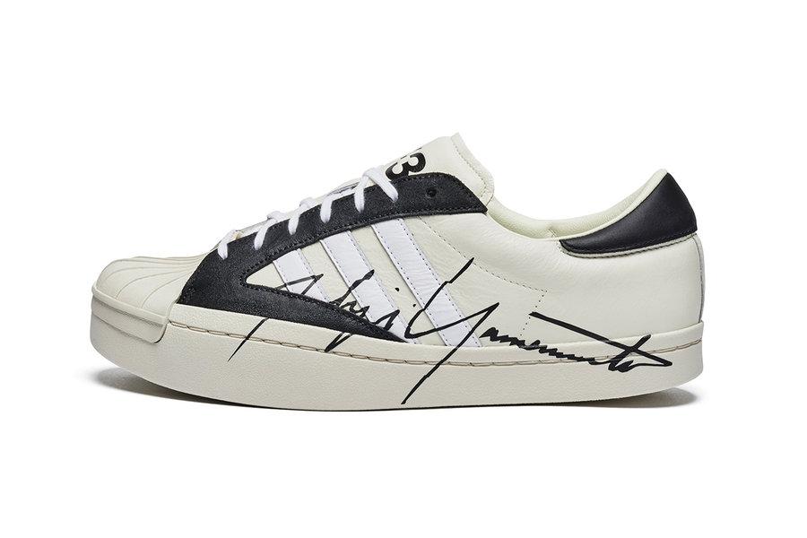 adidas,y-3,superstar,发售  这才是高级联名!山本耀司也带来了 Superstar 联名款!