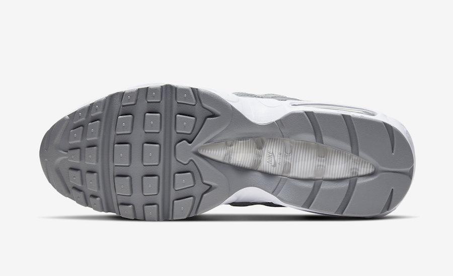 Air Max 95,Nike,发售,CT1268-001  春夏最值得推荐的配色!灰白 Air Max 95 官图释出!即将发售!