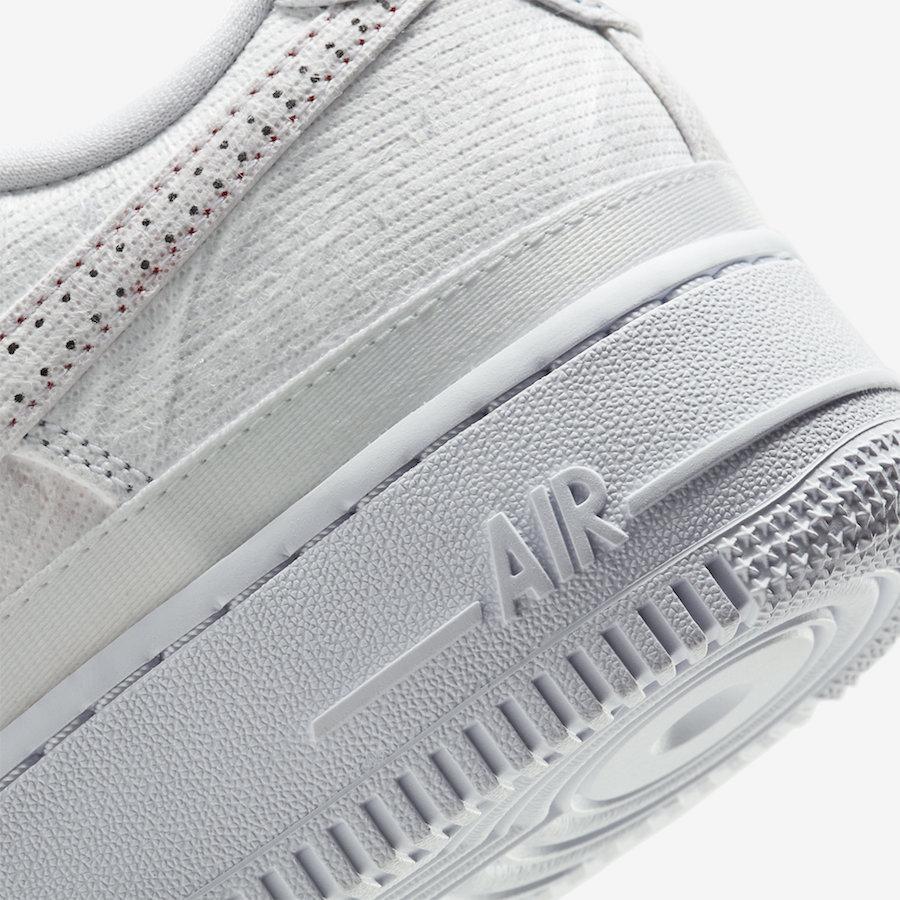 Nike,Air Force 1 Low,CJ1650-10  冠希丝绸替代品!这双 Air Force 1 可玩性一点不输联名款!