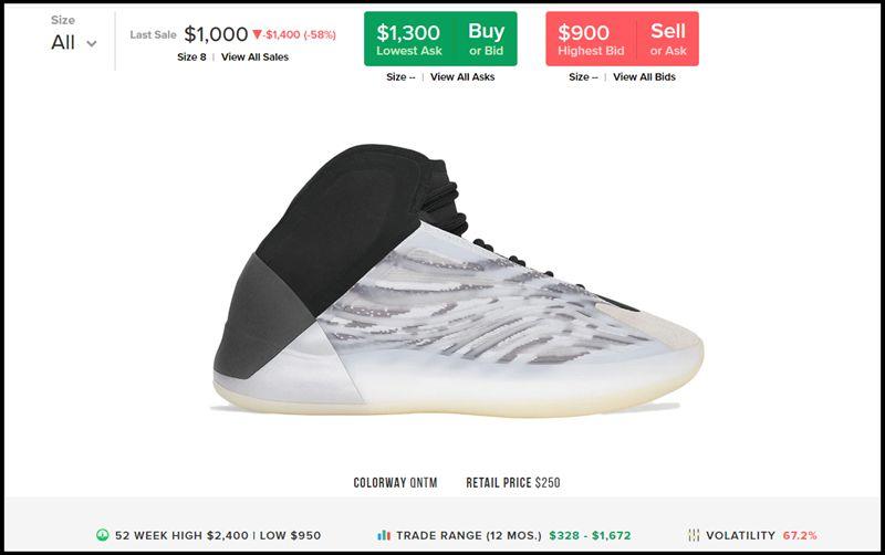 YZY BSKTBL Quantum,YZY QNTMQu 现场遭哄抢!市价 7K 的 YZY 篮球鞋,侃爷免费送!