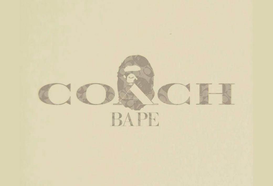 Coach,BAPE  Coach x BAPE®️ 奢华合体!这一波都是狠货!
