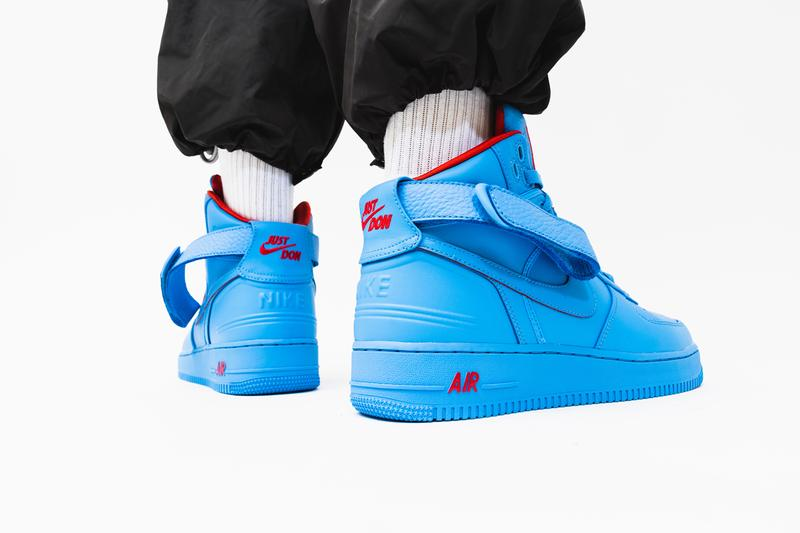 Nike,AF1,Air Force 1 超高规格三方联名 AF1 上脚照来了!能买的人都要满足一个条件!