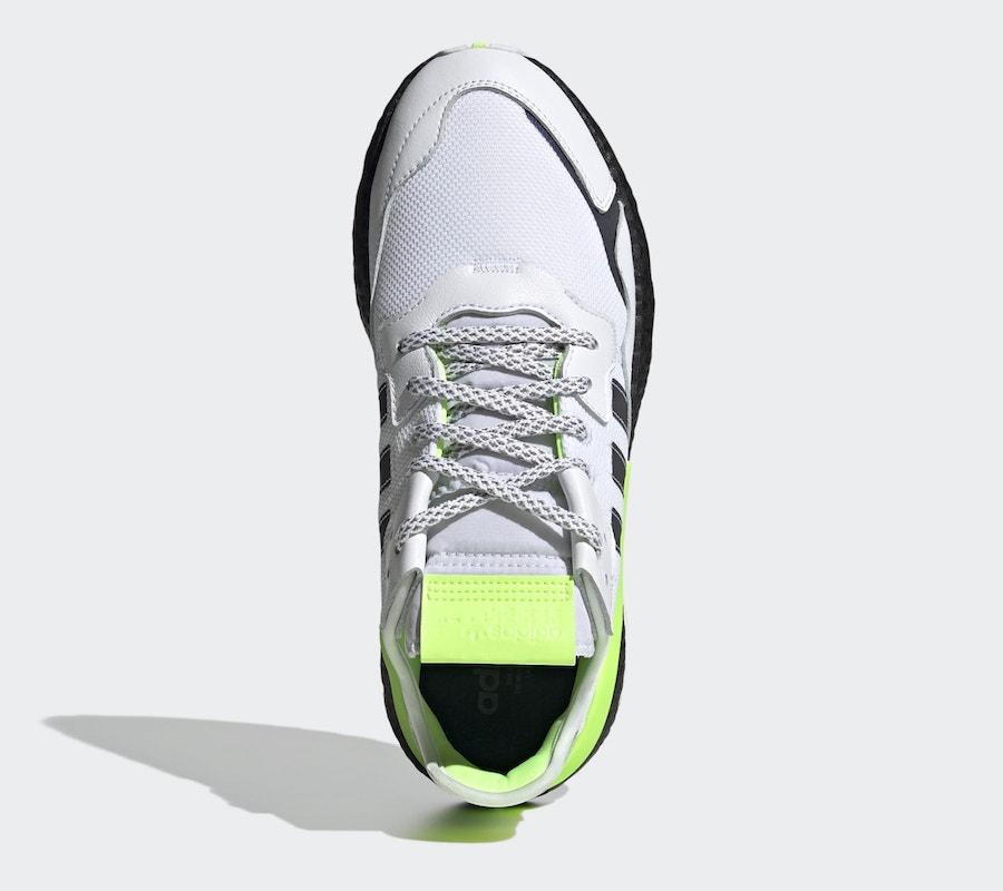 NIte Jogger,发售,adidas 炫彩 3M 加持!这双 Nite Jogger 新配色太抢眼了!