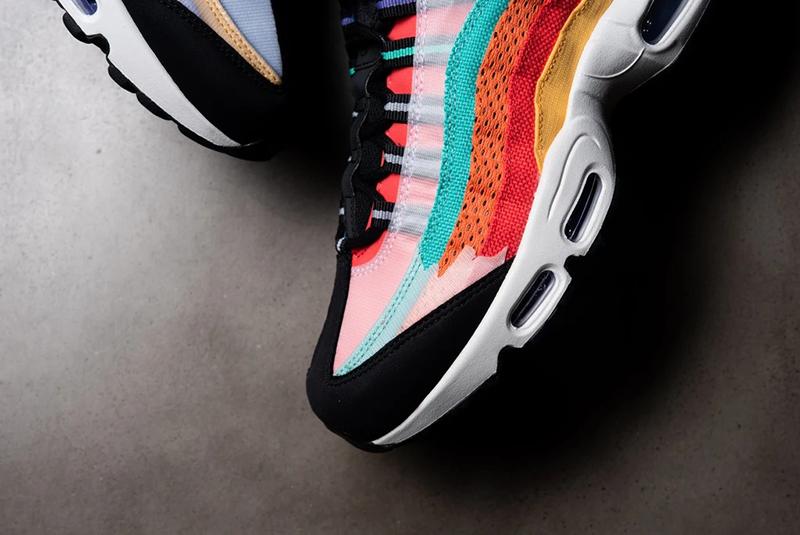 Nike,Air Max 95,BHM,CT7435-901 如同彩虹般绚烂!黑人月系列 Air Max 95 实物美图释出!