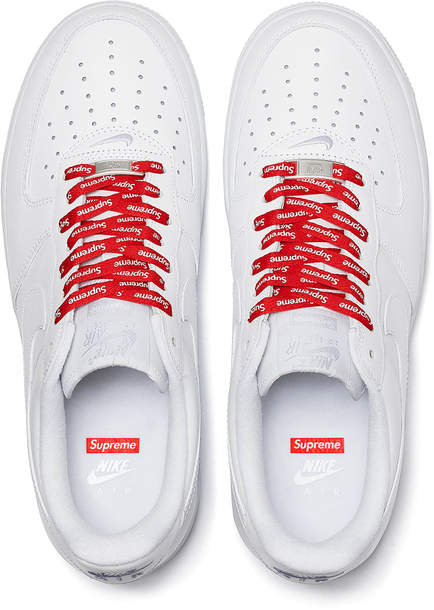 莆田鞋-Supreme x Nike Air Force 1 Low 货号:CU9225-100(白)/ CU9225-001(黑)插图(4)