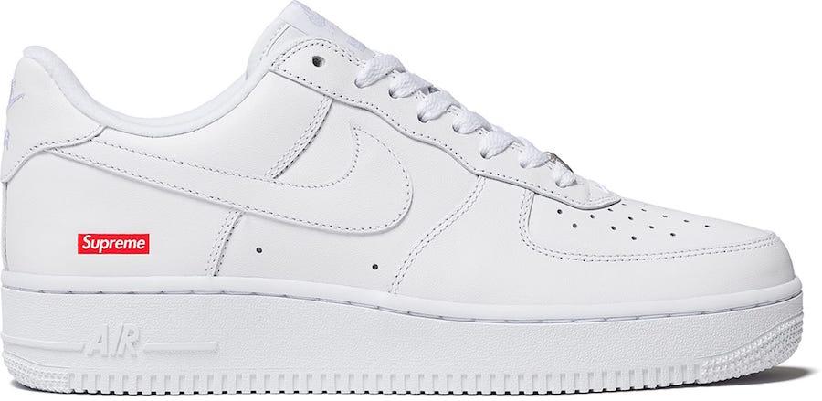 莆田鞋-Supreme x Nike Air Force 1 Low 货号:CU9225-100(白)/ CU9225-001(黑)插图(3)
