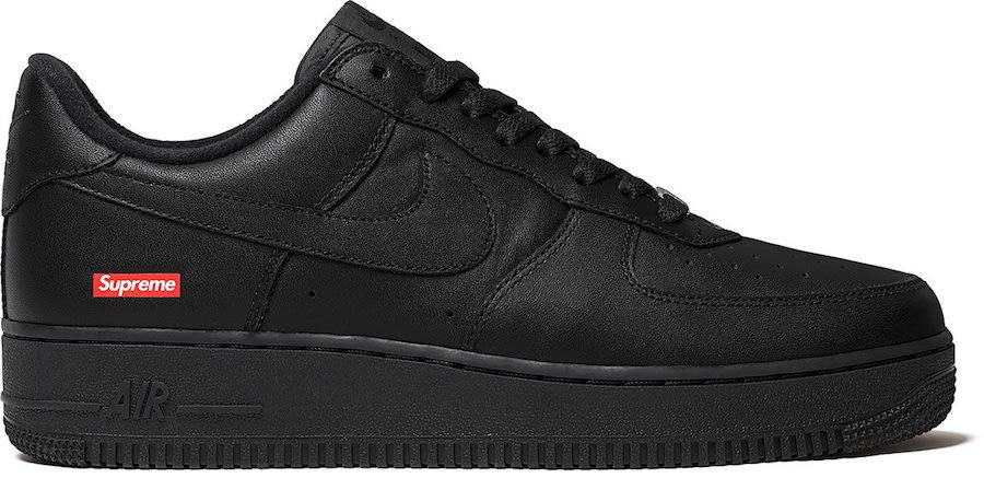 莆田鞋-Supreme x Nike Air Force 1 Low 货号:CU9225-100(白)/ CU9225-001(黑)插图(5)