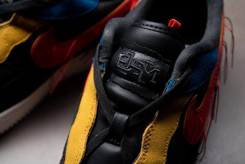 Nike,AirAir Force 1,Nike,CT553 破坏做旧 + 搞怪拆线!黑人月系列 Air Force 1 现已发售!