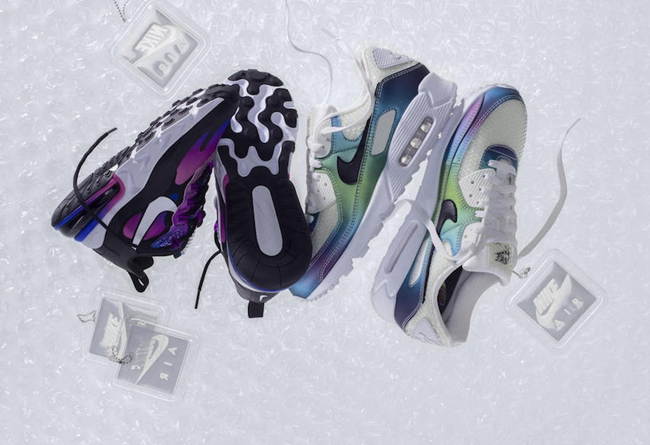Nike,Air Max Bubble Pack 彩虹气泡风格!全新 Air Max Bubble Pack 套装即将发售!