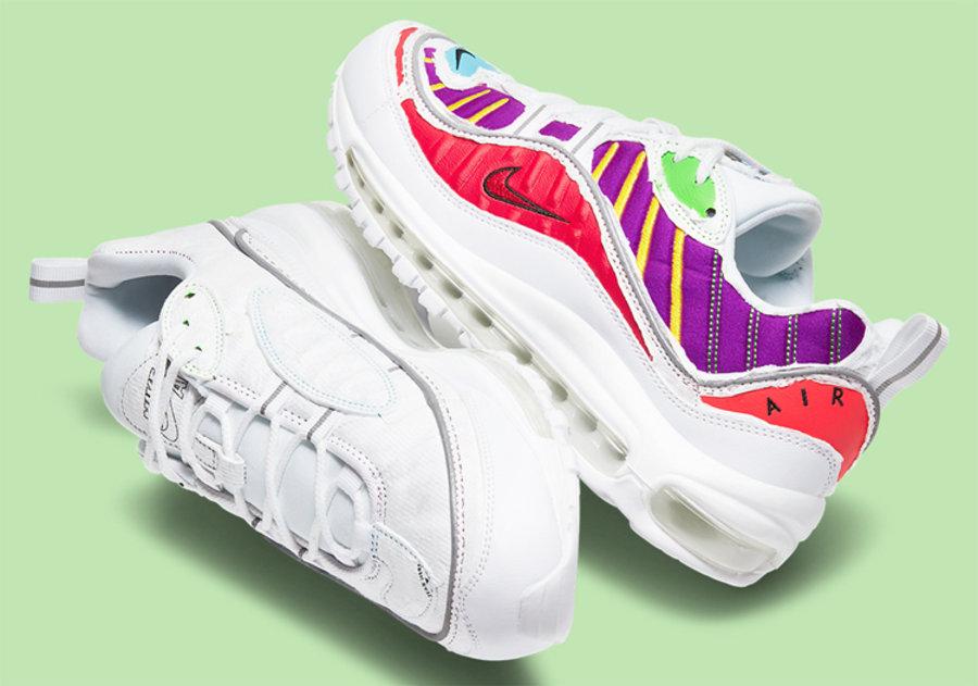 Nike,Air Max 98,Cut Away,CJ063  Nike 可撕鞋面再出新品!这次是 Air Max 98 鞋型!