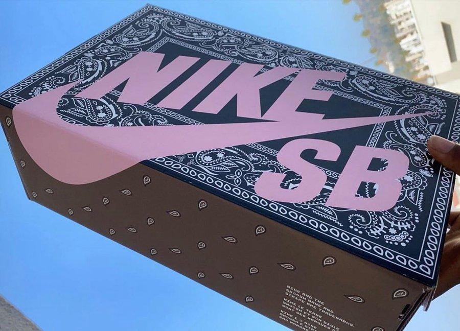 Travis Scott,Nike Travis Scott x Nike Dunk SB 还有特殊鞋盒?!爱了爱了!