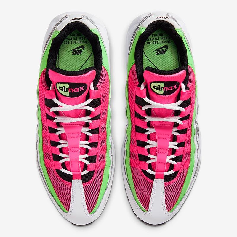 Nike Air Max 95,Watermelon,CJ0 男女通吃的可口配色!这双西瓜 Air Max 95 真让人垂涎!