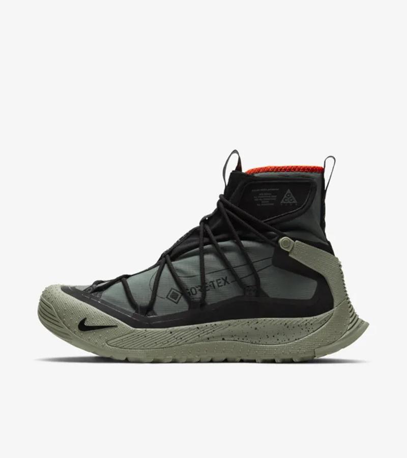 Nike,ACG,Air Terra Zaherra,发售 军事风造型!一鞋难求的 ACG 机能王牌又有新配色!明早发售!